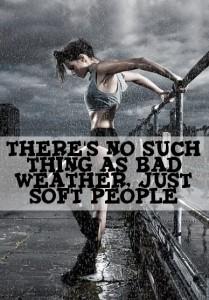 Rain-running