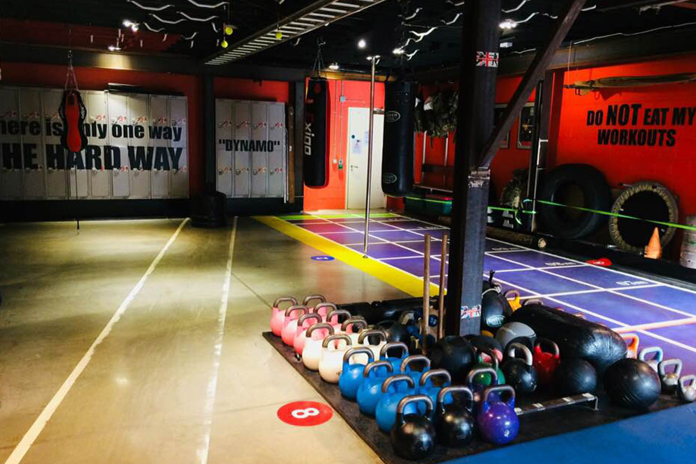 Personal Training Croydon, Training area